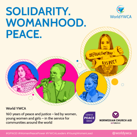 olidarity - Womanhood - Peace World YWCA Podcast young women leaders